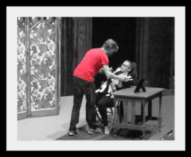 Hamlet confronts Gert